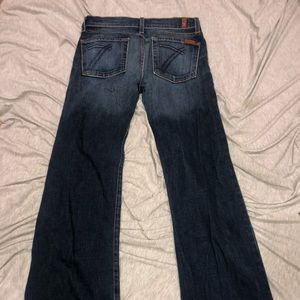 7 for all mankind jeans flare leg